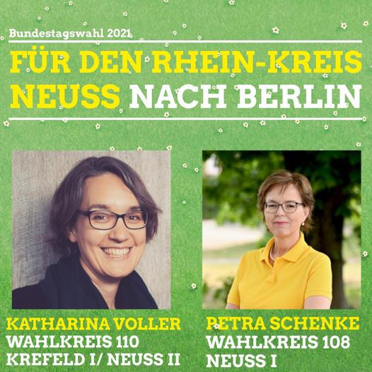 Direktkandidatinnen für den RheinKreis