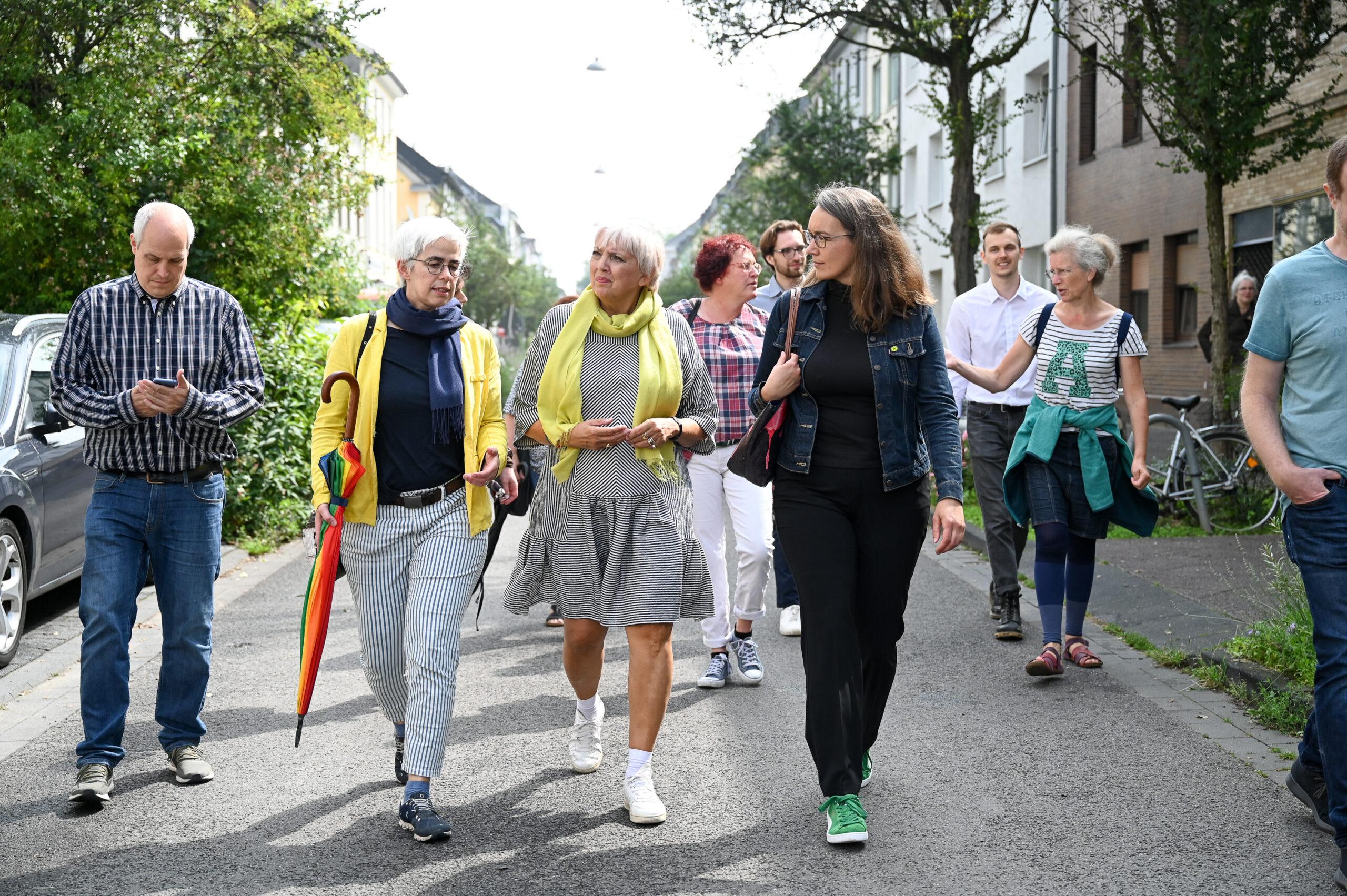 Mit Claudia Roth und Ulle Schauws unterwegs