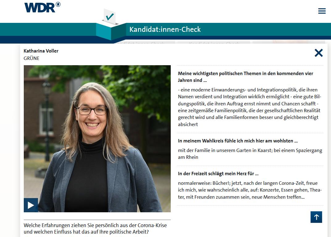 WDR-Kandidat*innen-Check ist online!